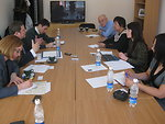 Assistant Secretary Hammer Meets With Kyrgyz Journalists