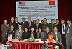 The United States and Vietnam sign an MOU on unexploded ordnance (UXO) cooperation