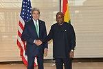Secretary Kerry Meets With Ghanaian President Mahama
