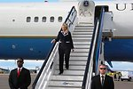 Secretary Clinton Arrives in St. Petersburg