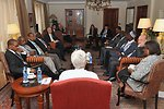 Secretary Kerry Meets With African Security Experts in Addis Ababa