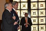 Ambassador Thorne Welcomes Secretary Kerry to Tri-Mission Rome