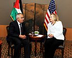 Secretary Clinton Meets With Prime Minister Fayyad of the Palestinian National Authority