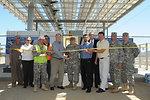Ribbon cutting for new solar microgrid at Fort Hunter Liggett