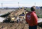 Levee breach in Linda 1986