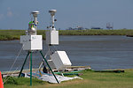 August 7, Air sampling station, near Port Fourchon, La