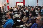 Audience Members Listen to Secretary Chu