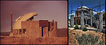 Taos, NM 'Earthships' 1972 and 2011