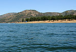 New Hogan Lake and Dam, Calaveras County, Calif.