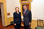 Secretary Clinton With United Arab Emirates Foreign Minister Abdullah bin Zayed al Nahyan
