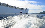 USNS Mercy Sits at Anchor Off the Coast of Ternate, Indonesia