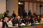 Secretary Clinton, Philippines Foreign Minister Rosario, and Singaporean Foreign Minister Shanmugam Participate in the East Asia Summit Foreign Ministers' Consultation