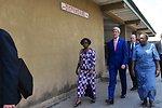 Secretary Kerry Tours Hospital Providing USAID-Funded Fistula Services in Kinshasa