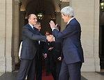 Secretary Kerry Bids Farewell to Italian Prime Minister Letta