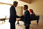Secretary Kerry Meets With Colombian President Santos