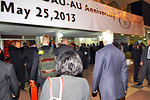 Secretary Kerry Enters the Terminal at Addis Ababa International Airport