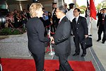 Secretary Clinton Greets Chinese State Councilor
