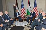 Secretary Kerry Meets With President Abbas