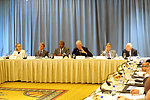 Secretary Clinton, French Foreign Minister Kouchner, Haitian Prime Minister Bellerive, and Former President Clinton Participate in a Special Session of the Interim Haiti Reovery Mission