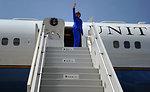 Secretary Clinton Departs Lebanon