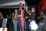 Uncle Sam Poses for a Photo With Friends