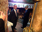 President Obama and Secretary Kerry Visit the Church of the Nativity