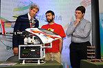 Secretary Kerry Views a Brazilian Science Exhibition