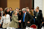 Secretary Clinton Participates in the Tokyo Conference on Japan