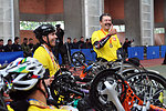 Colombian Disabled Cyclists Speak With Secretary Kerry