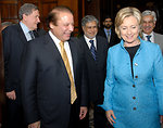 Secretary Clinton Meets With Former Pakistani Prime Minister