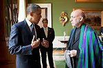 President Obama Speaks With Afghan President Karzai