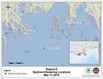EPA Sediment Sampling Locations May 11, 2010
