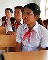 Students  at Kon Ray School