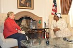 Secretary Clinton Meets With AU Chair-Designate Dlamini-Zuma