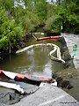 Talmadge Creek boom