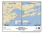 EPA Air Monitoring Locations May 11, 2010