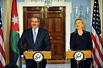 Secretary Clinton and Jordanian Foreign Minister Judeh Deliver Remarks