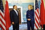 Secretary Clinton Meets With Bahraini Crown Prince Salman bin Hamad Al-Khalifa