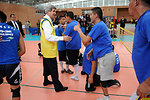 Secretary Kerry Meets With Wounded Veteran Volleyball Players