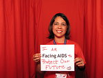 I AM FACING AIDS to Protect Our FUTURE.