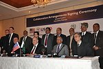 John Morgan, and representatives of USAID, with Chief Executive Officers of Pakistan's power distribution companies