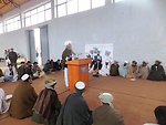 The Qadis District Governor organized a Peace meeting with participation of 99 government officials, Ulema, youth and women on December 1