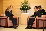 Secretary Clinton Meets With Japanese Prime Minister Kan