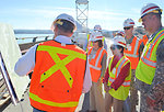 Secretary Darcy, Rep. Matsui visit Folsom Dam Joint Federal Project