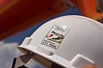 August 7, Attention grabbing safety sticker