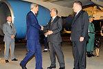 Secretary Kerry Is Greeted By Japanese Ambassador Sasae