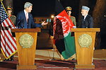 Secretary Kerry Discusses Bilateral Security Agreement With Afghanistan