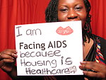 I am FACING AIDS because housing is healthcare.