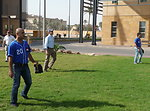 Embassy Workers Play Baseball With Iraqi National Team