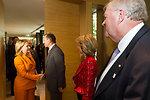 Secretary Clinton Is Greeted By Australian Opposition Leader Abbott